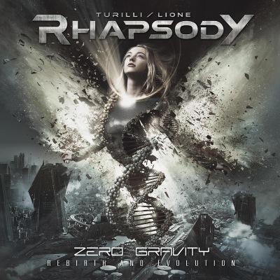 Turilli / Lione Rhapsody - Zero Gravity (Rebirth and Evolution) (2019) (digipak)