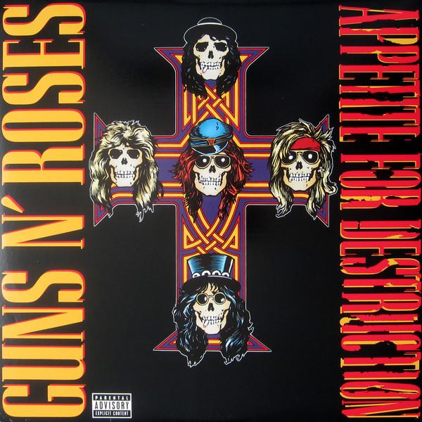 Guns N' Roses - Appetite For Destruction (Vinyl, LP)