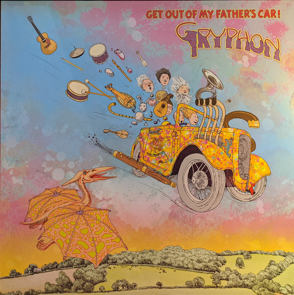 Gryphon - Get Out Of My Father's Car! (2020)