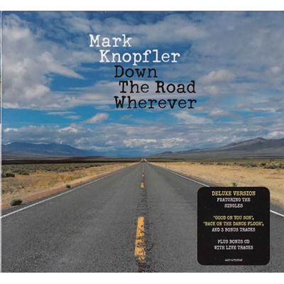 Mark Knopfler – Down The Road Wherever (2cd, Digipak) (2018)