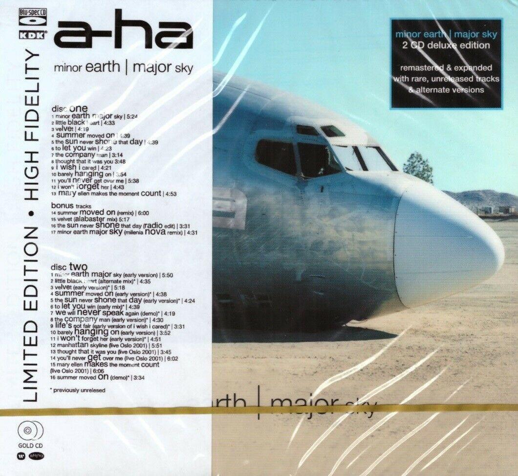 a-ha - Minor Earth Major Sky (2cd, digipak) (Remastered, Blu-Spec CD)
