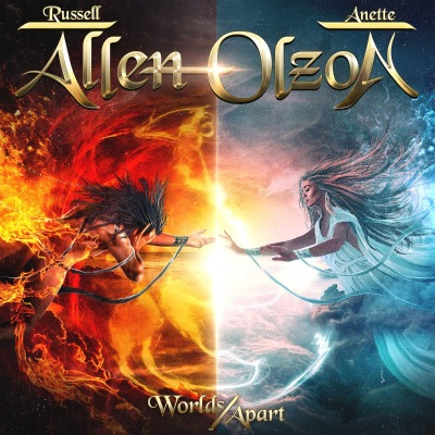 Russell Allen & Anette Olzon - Worlds Apart (2020)