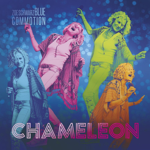 Zoe Schwarz Blue Commotion - Chameleon (2021)