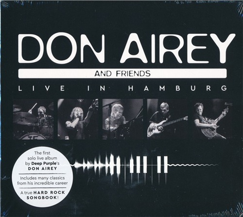 Don Airey and Friends - Live in Hamburg (2CD) (2021)