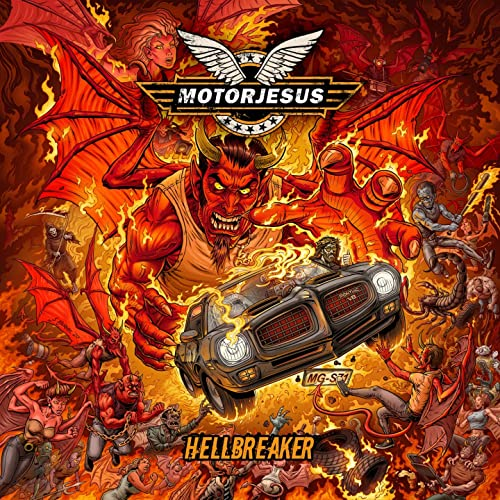 Motorjesus - Hellbreaker (2021)