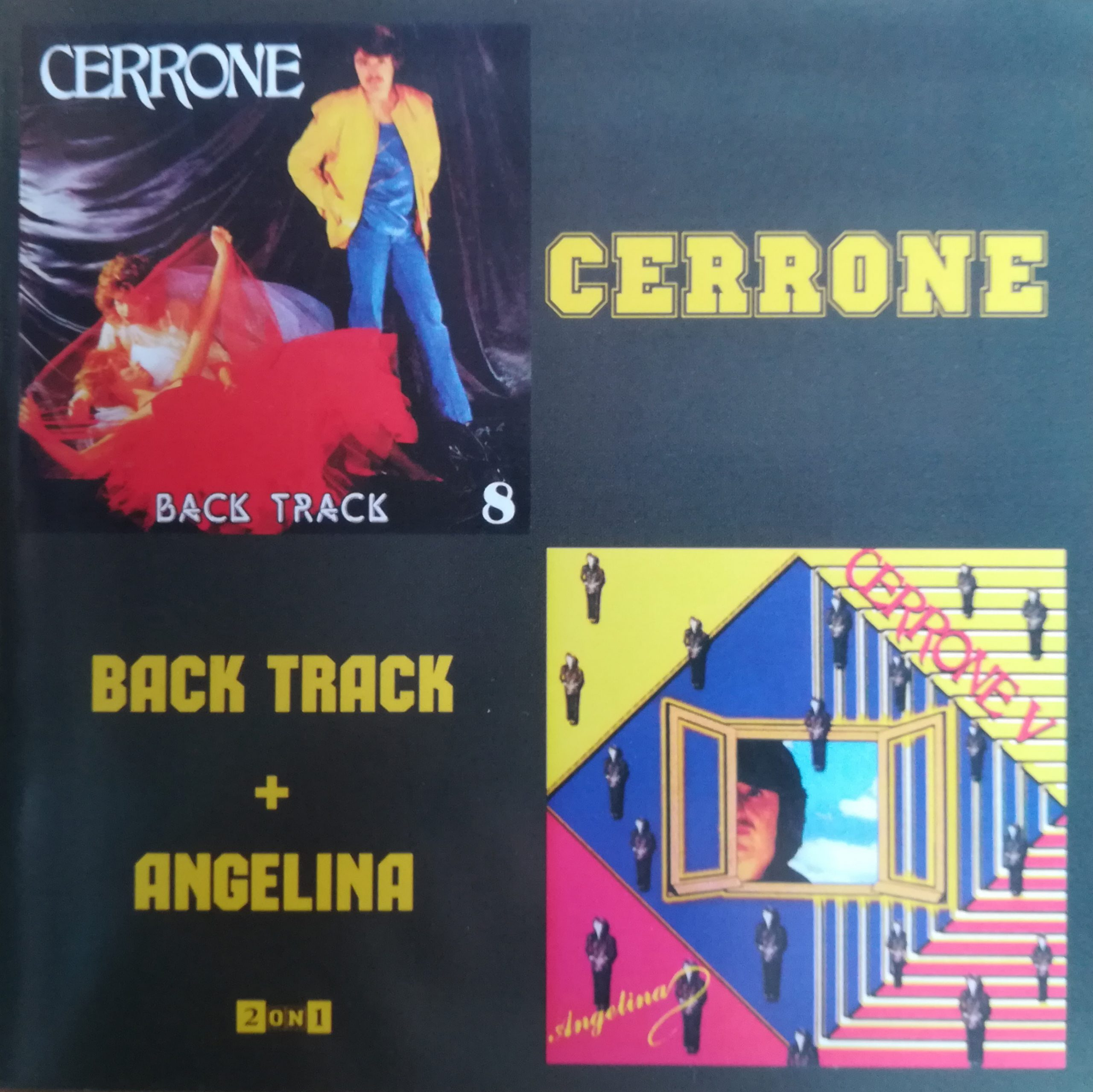 Cerrone - Back Track & Angelina (1982/1979)