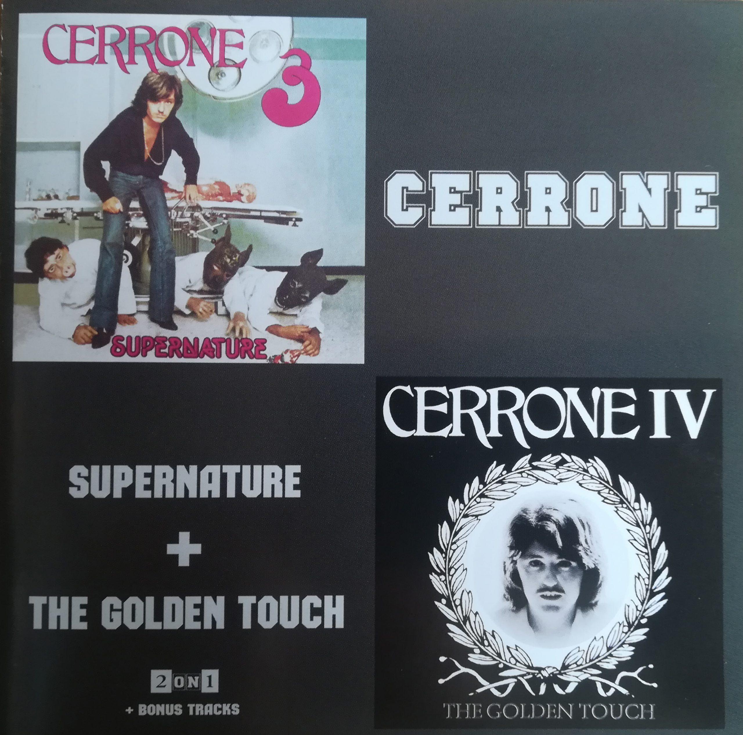 Cerrone - Supernature & The Golden Touch (1977/1978)