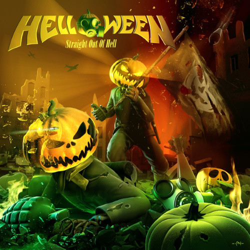 Helloween - Straight Out Of Hell (2013) (digipak)