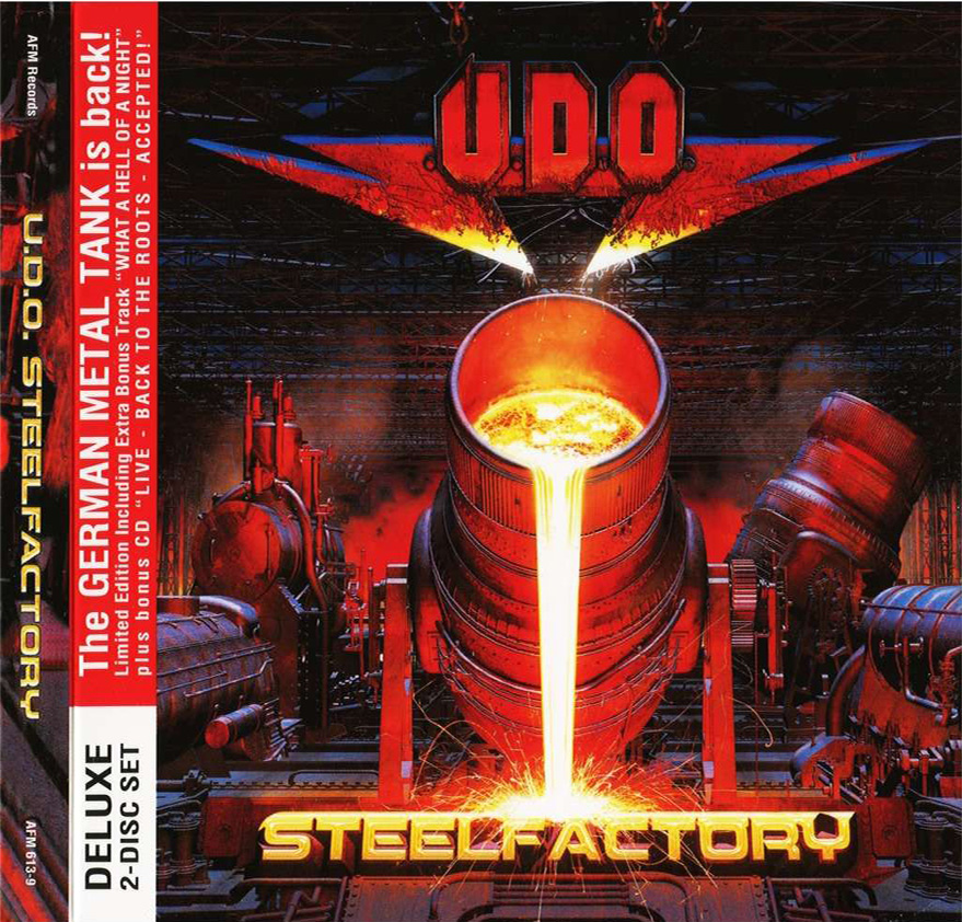 U.D.O. - Steelfactory (2cd, digipak) (2018)